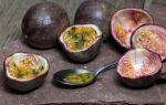 Маракуйя: полезные свойства и противопоказания, витамины и микроэлементы в составе, калорийность