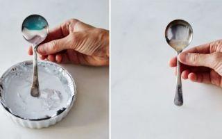 Как почистить серебро в домашних условиях от черноты чтобы блестело быстро и эффективно