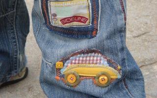 Как вывести жирное пятно с джинсов в домашних условиях