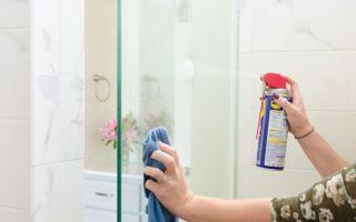 Как отмыть душевую кабину от известкового налета и мыльных разводов в домашних условиях?