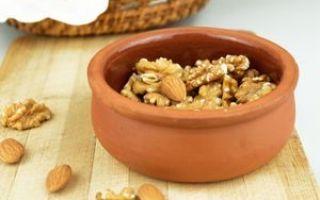 Как хранить орехи в домашних условиях — особенности очищенных и в скорлупе