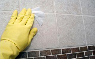 Как и чем отмыть цемент с плитки после ремонта?