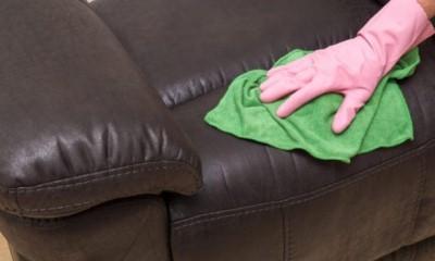 Как и чем оттереть ручку с кожаного дивана - 4-10 способов