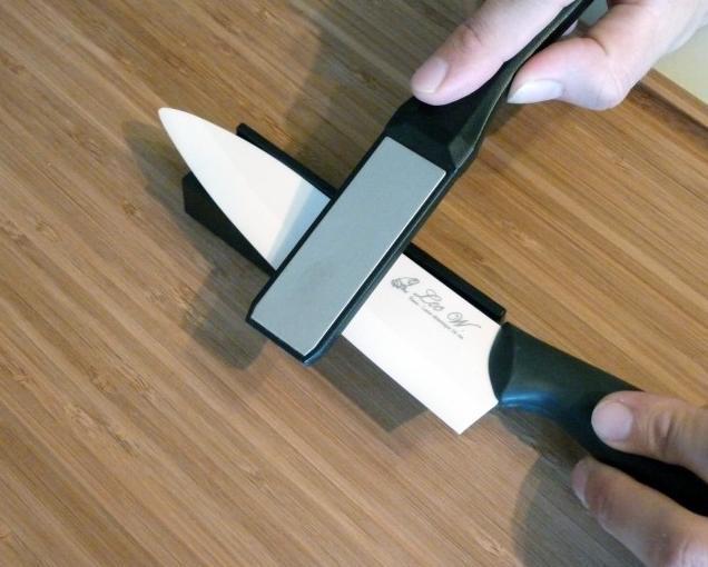 Чем и как наточить керамический нож 🔪 в домашних условиях, о чем важно помнить, чтобы не повредить лезвие