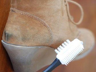 Как покрасить замшевую обувь в домашних условиях?