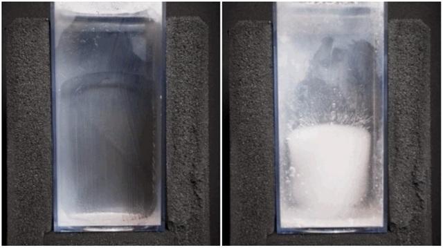 Как сделать лед в домашних условиях, чтобы он получился прозрачным, если нет формочек?