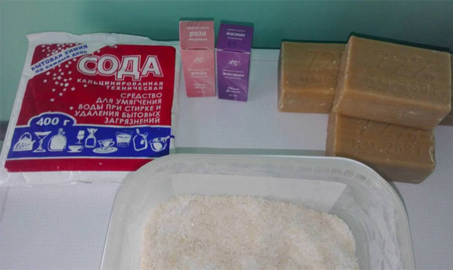 Как сделать в домашних условиях стиральный порошок?
