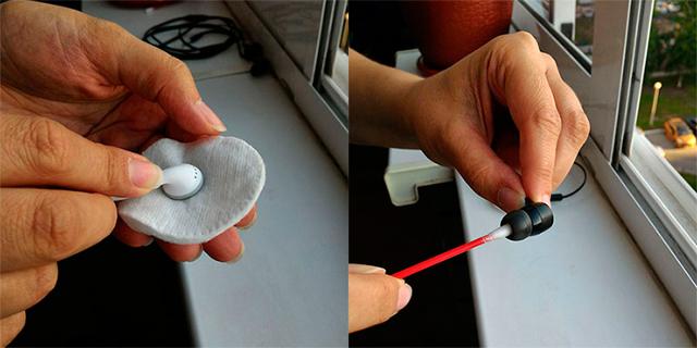 Как почистить наушники перекисью водорода и точно их не испортить: два способа