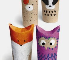 Что можно сделать из бумажных полотенец и втулки — лучшие идеи поделок и применения в быту