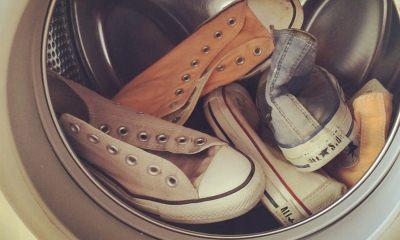 Как стирать тканевые кеды в стиральной машине и вручную – моем конверсы правильно