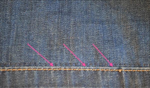 Как правильно и красиво подшить джинсы вручную: пошагово объясняем и показываем