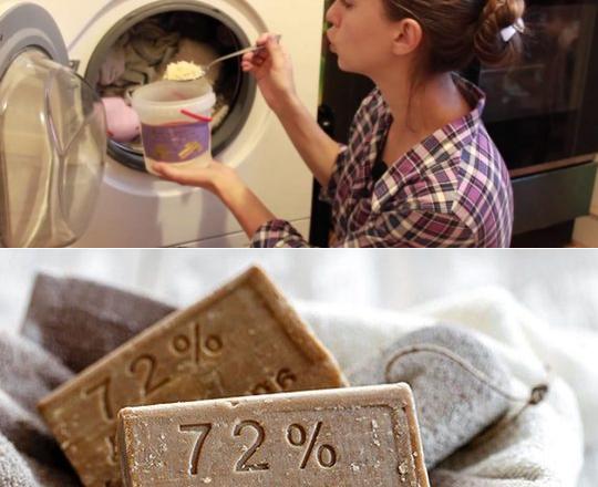 Как стирать в стиральной машине хозяйственным мылом: защищаем детали устройства от повреждения