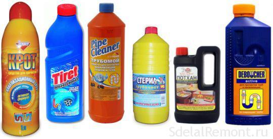 Как и чем почистить слив в ванной от волос: механические и химические способы