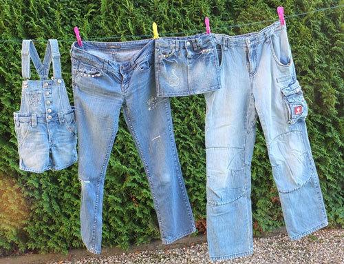 Как Белизной отбелить джинсы в домашних условиях?