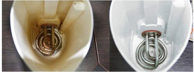 Как убрать накипь в электрическом чайнике в домашних условиях