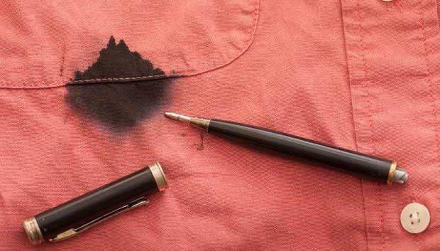 Чем отстирать чернила от ручки с одежды: лучшие способы