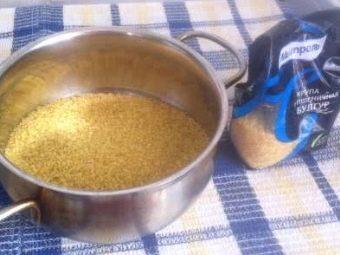 Нужно ли мыть булгур перед приготовлением: готовим крупу правильно