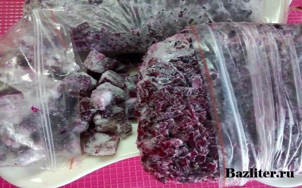Как заморозить свёклу на зиму, правила хранения в морозилке, как готовить