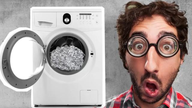 Шарик из фольги в стиральной машине: зачем добавляют, как действует