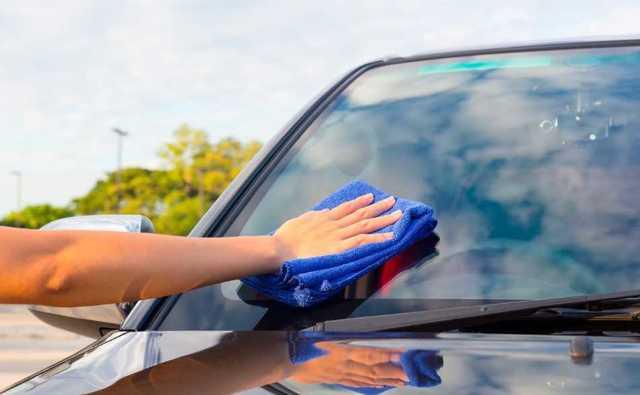 Как очистить насекомых с автомобиля: с капота и лобового стекла