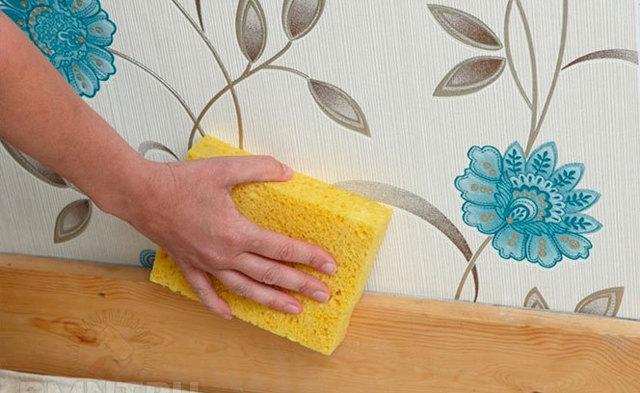 Можно и нужно ли мыть стеклообои, средства и методы
