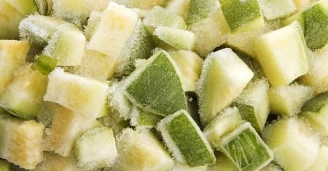 Как заморозить кабачки на зиму свежими в морозилке в домашних условиях