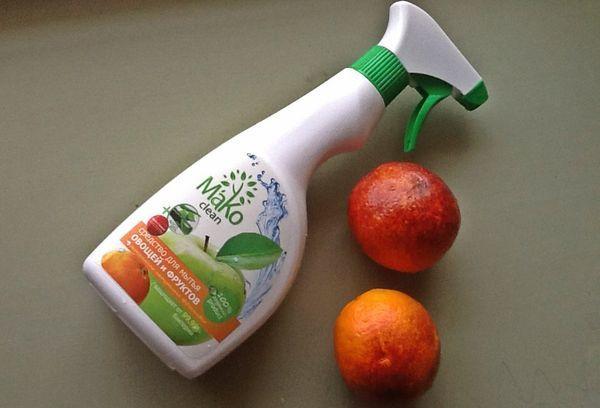 Средство для мытья фруктов, овощей и зелени в домашних условиях