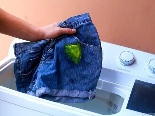 Как вывести краску с одежды в домашних условиях