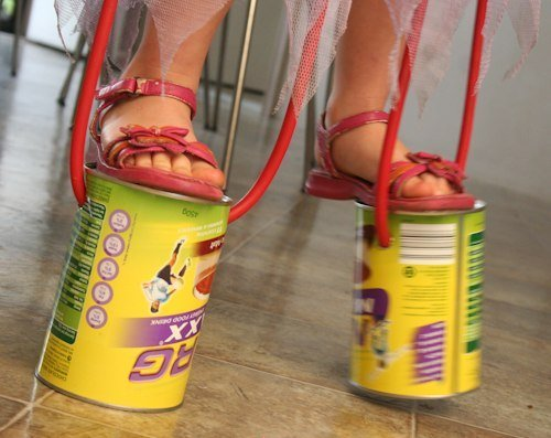 Что можно сделать из банок от детского питания: игрушки, органайзер, набор для специй