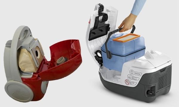 Какой выбрать пылесос – с мешком или с контейнером?