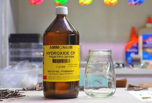 Аммиак: инструкция по применению нашатырного спирта в быту