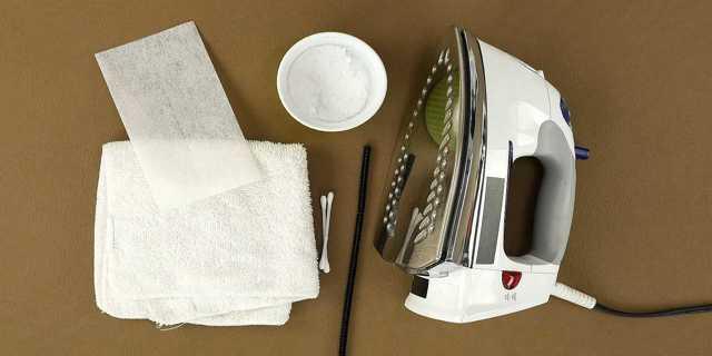 Как почистить утюг уксусом от накипи внутри и подошву: несколько вариантов