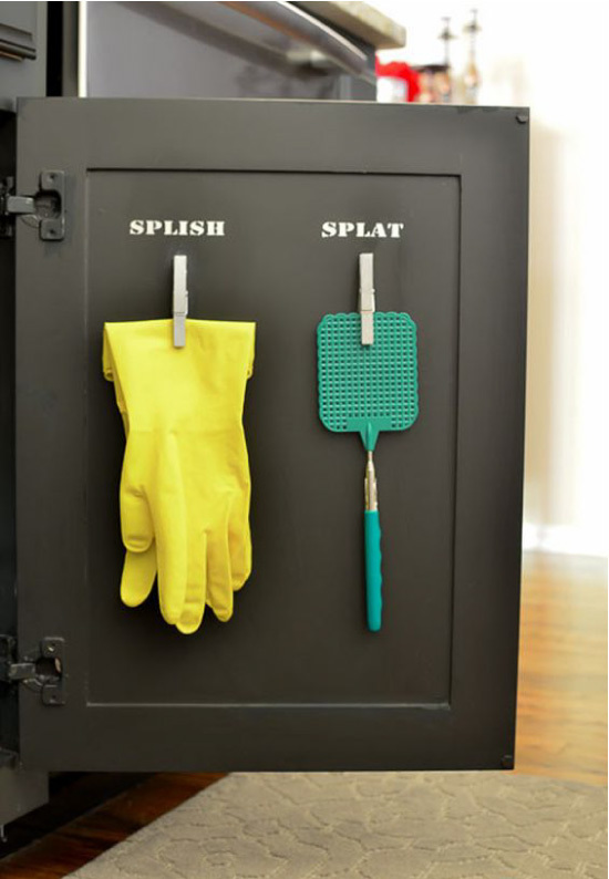 Как организовать пространство под кухонной раковиной: все нужное под рукой