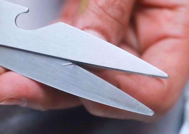 Как наточить ножницы в домашних условияхсамостоятельно