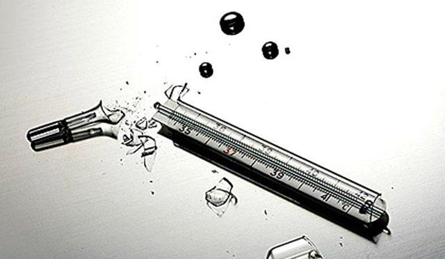 Куда выбросить ртутный градусник икуда утилизировать ртуть из разбитого градусника