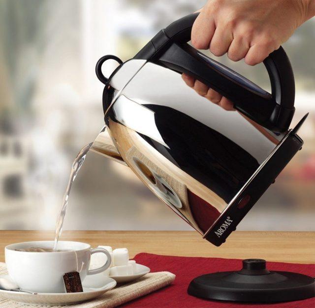 Как почистить чайник из нержавеющей стали внутри и снаружи?