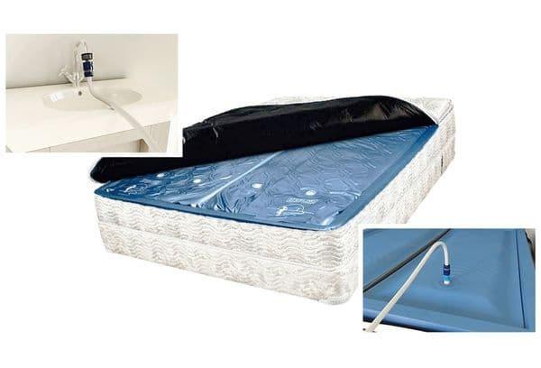 Водяной матрас для кровати: плюсы и минусы, как использовать