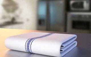 Как отбелить кухонные полотенца в домашних условиях без кипячения?
