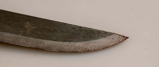 Как убрать ржавчину с ножа в домашних условиях