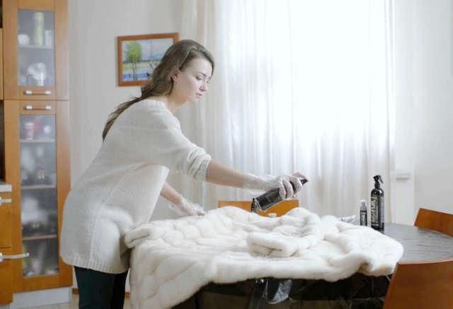 Как почистить подкладку шубы: боремся с пятнами самостоятельно