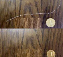 Как убрать царапины с ламината в домашних условиях
