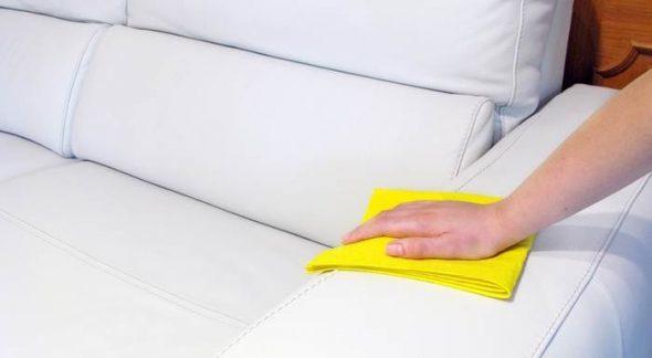 Как ухаживать за кожаной мебелью: условия, средства, правила проведения чистки