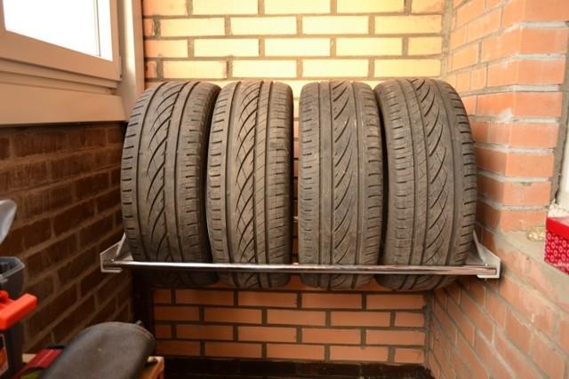 Хранение шин правильно условия для летней и зимней резины