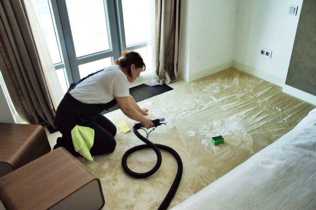 Чем и как почистить ковролин в домашних условиях прямо на полу: сухая, влажная и пенная чистка, народные средства