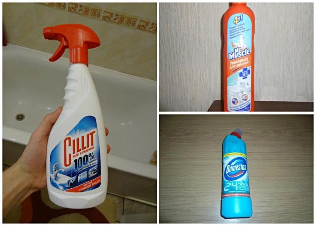 Как отмыть ванну от марганцовки: простые средства для чугунных, эмалированных, акриловых ванн