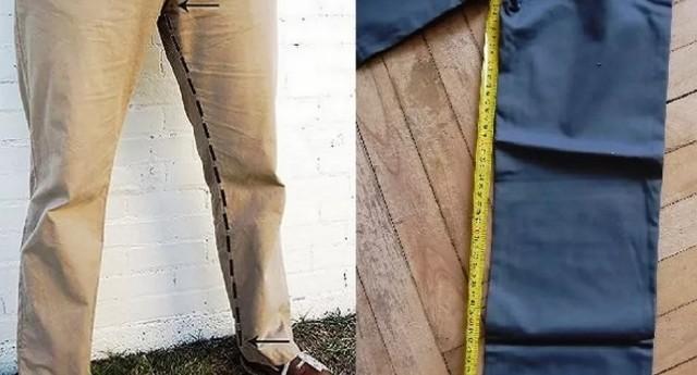 Как ушить штаны в ногах и талии вручную в домашних условиях без машинки