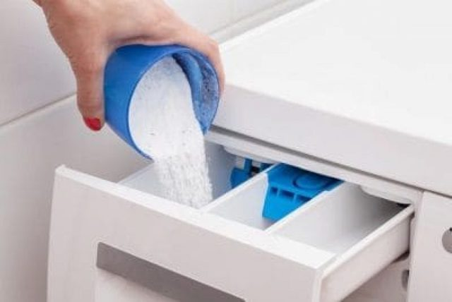 Чем очистить лоток для порошка в стиральной машине?