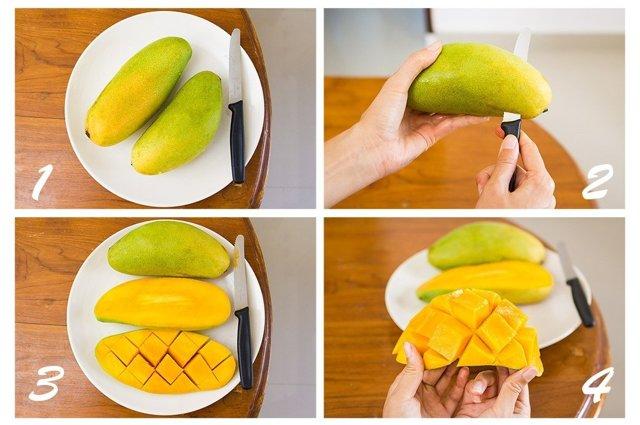 Как чистить манго правильно?