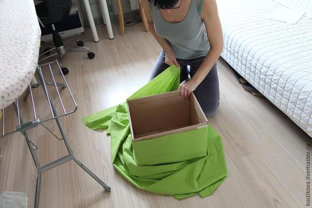 Коробки для хранения своими руками из разных материалов