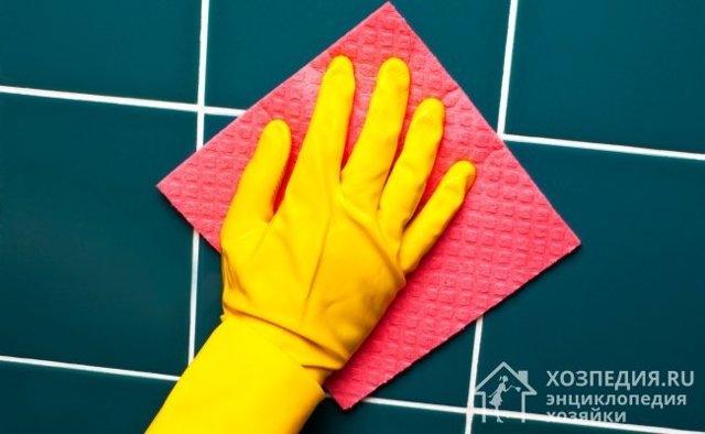 Как очистить швы между плиткой на кухне и ванной комнате?